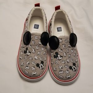 Brand new mickey mouse Gap shoes